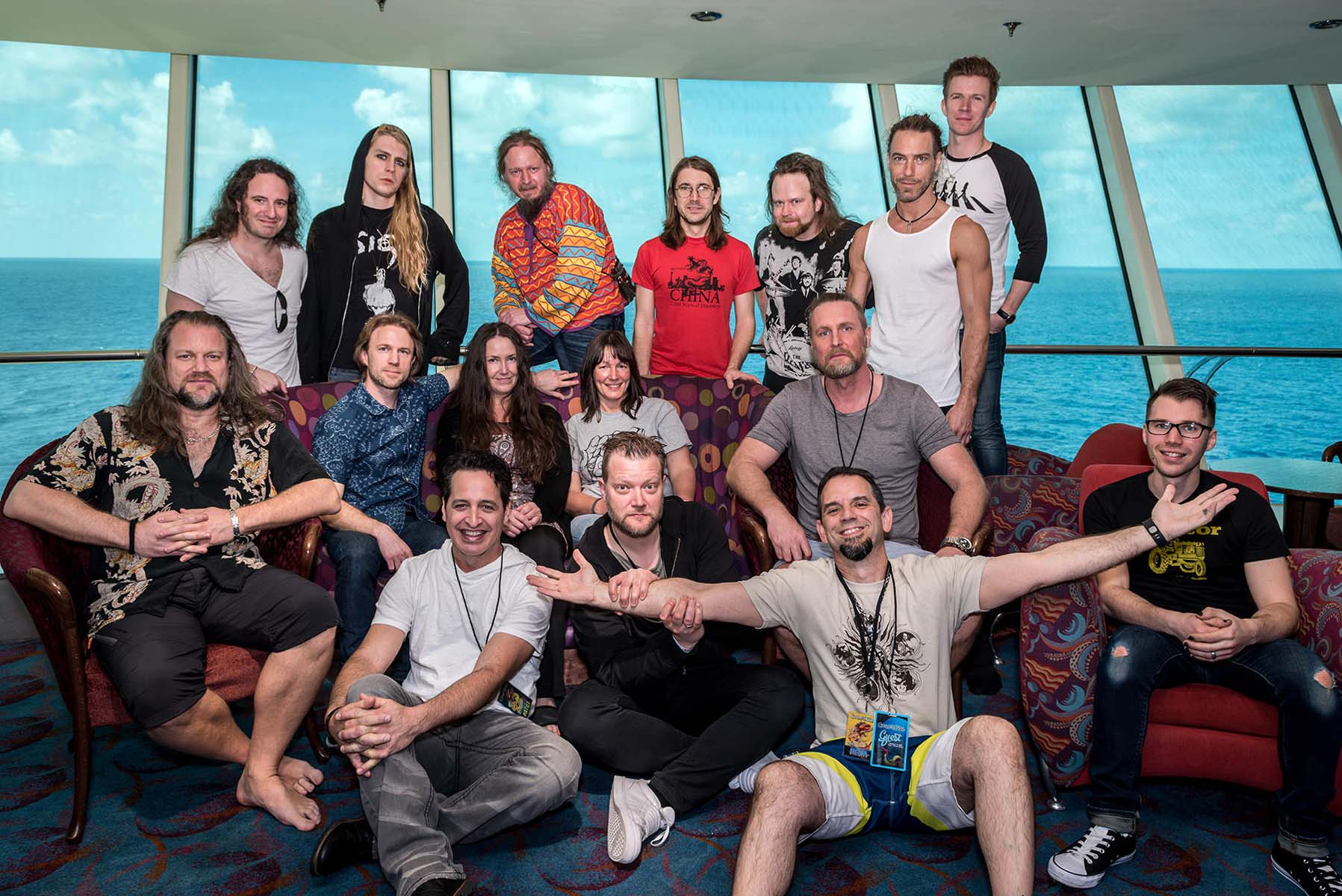 Meet and Greet Gallery: Änglagård Photo Experience during Cruise to the Edge 2017