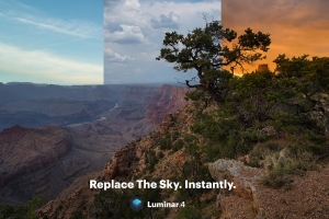 LUMINAR 4 introduces the first automatic Sky Replacement technology