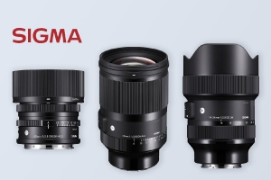 SIGMA launches 3 lenses for L-Mount and SONY E-Mount mirrorless systems