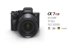 SONY Introduces the Alpha 7R IV camera with world's first 61 MP back-illuminated full-frame image sensor