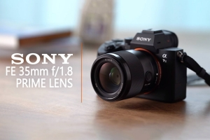 SONY announces new full-frame 35mm f/1.8 Prime lens for mirrorless cameras